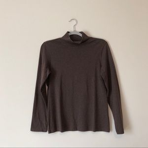 Pendleton | S | Brown | mock turtle neck | A0003